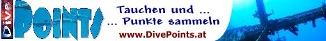 Tauchen und Punkte sammeln - www.divepoints.at